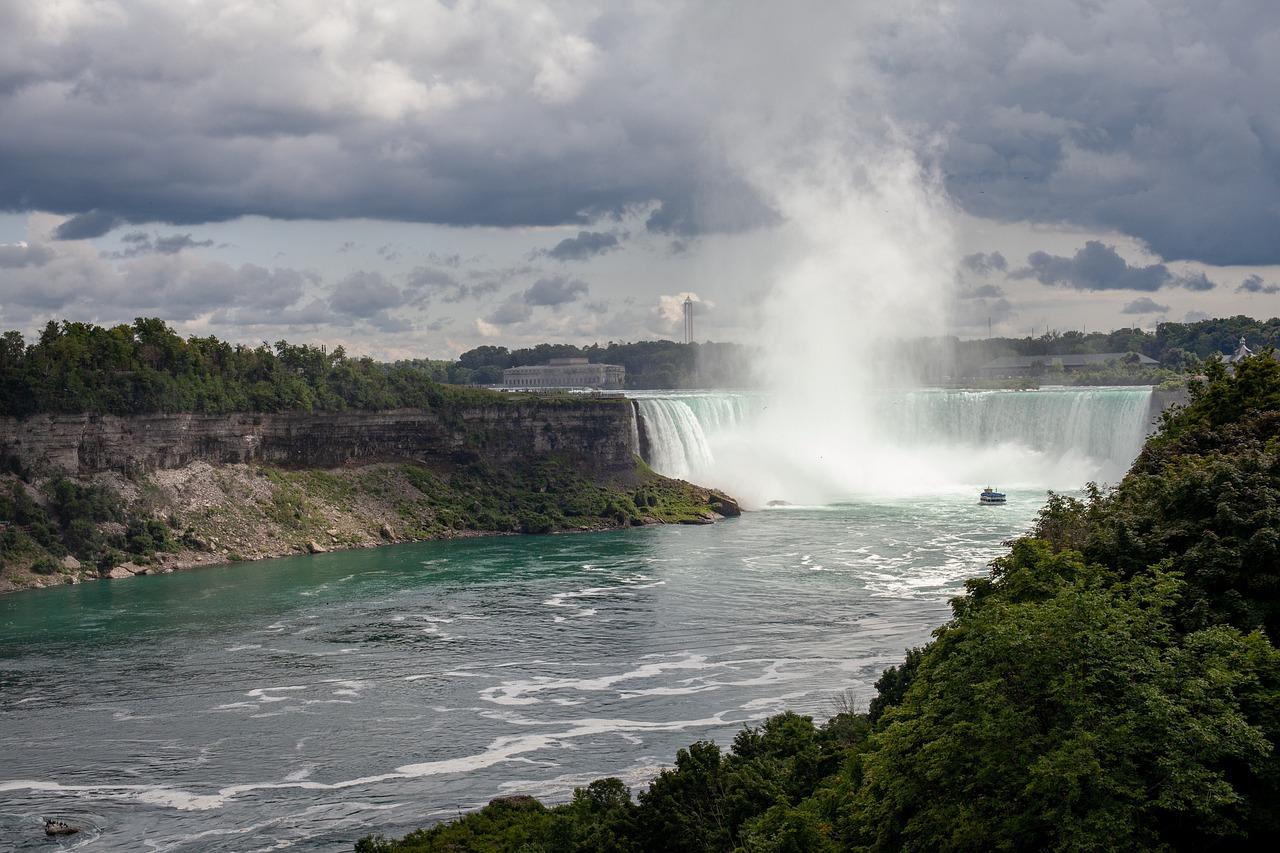 этой ниагарский водопад из под воды фото высыхания