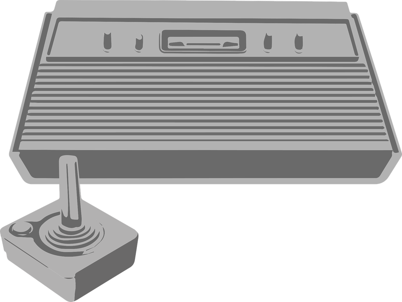 atari 2600 console - free vector graphic on pixabay  pixabay