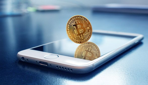 Bitcoin, Mobile, Bitcoin With Money