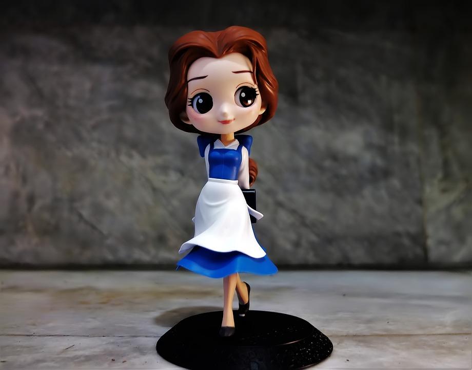 女性, 女の子, 若いです, おもちゃ, フィギュア, ディズニー, 映画, キャラクター, 漫画, テレビ