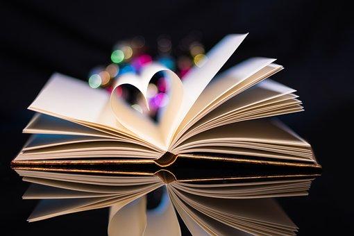 Book, Love, Heart, Read, Paper, Romantic
