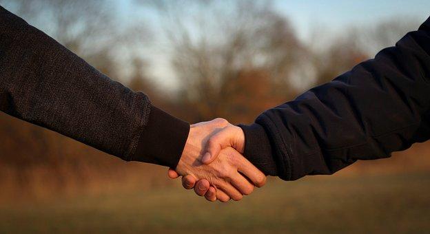 握手, 手を与える, 手持株, 手, ハンドシェイク, ようこそ, 受信