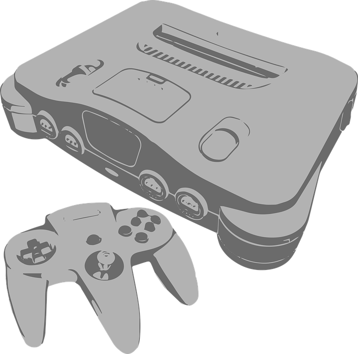 Nintendo 64 Console - Free vector graphic on Pixabay