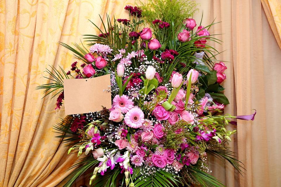 Arreglo Floral Con Tarjeta Manojo Foto Gratis En Pixabay