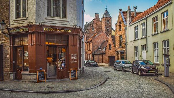 Belgium, Brugge, Architecture, Buildings