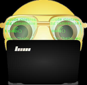 Grafik, Programmierer Smiley