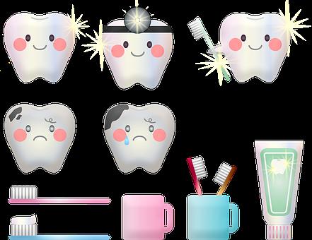 Teeth Hygiene, Tooth, Tooth Brush