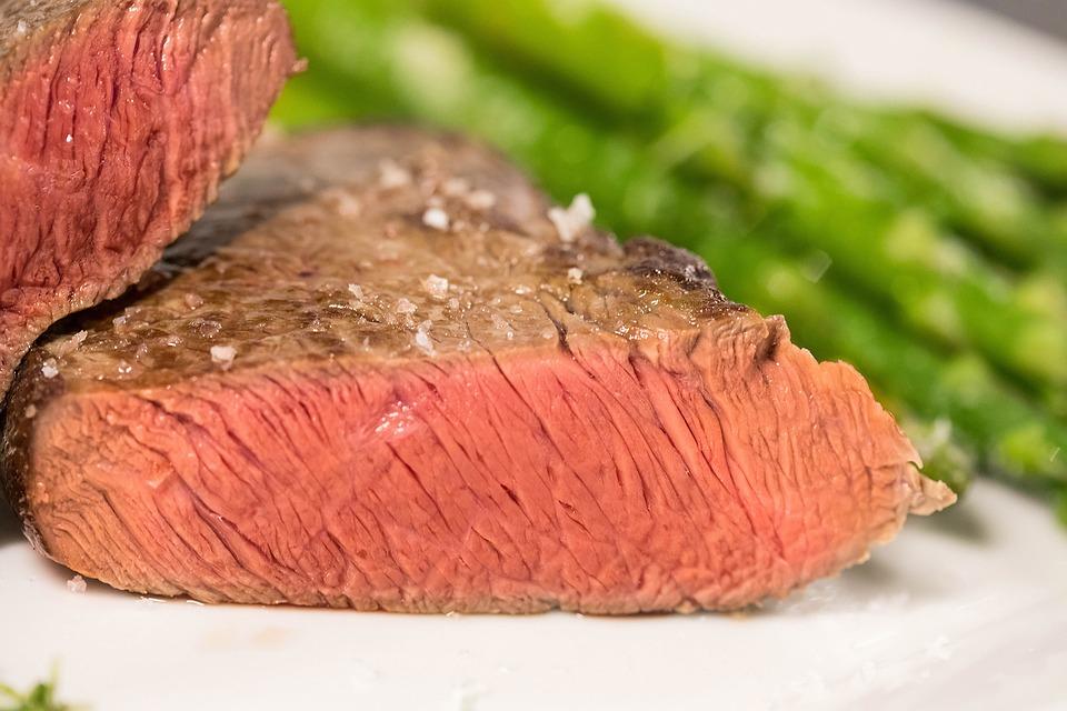 สเต็ก, เนื้อสัตว์, บาร์บีคิว, อาหาร, เนื้อวัว, ย่าง