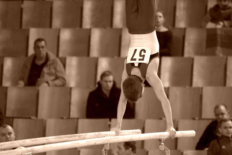 Turnen, Sport, Gymnastik, Barren, Training, Wettkampf