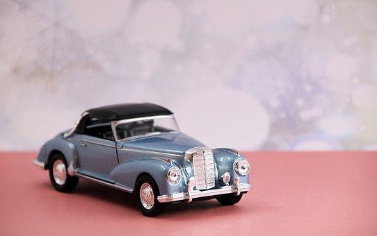 Mercedes, Modelo, Nostálgico, Auto