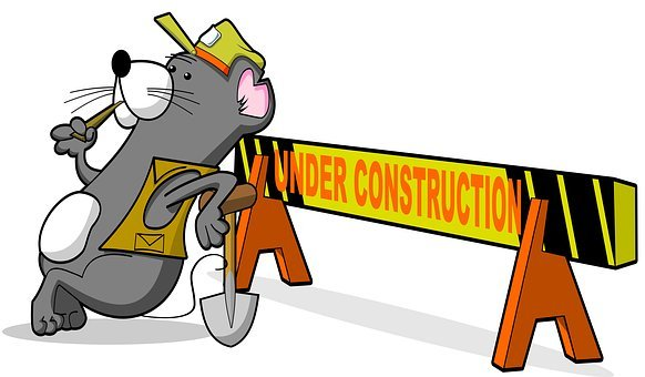 Under Construction, Job Site, Job, Work