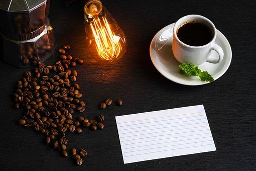 Espresso, Tazza Bianca, Caffè Nero