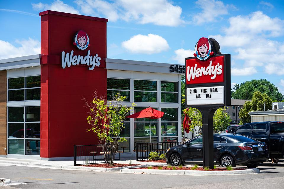 Wendy'S, Wendy, Fast Food, American Lunch, Dinner, Ohio
