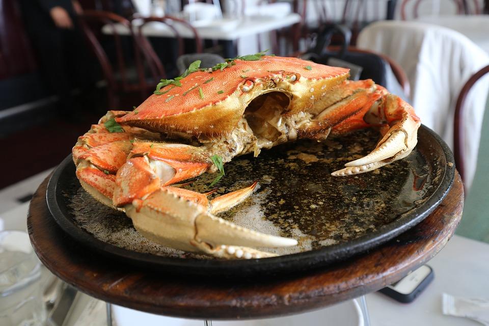Crab, Cooking, Sea, Food, Dining, Delicious, Chef