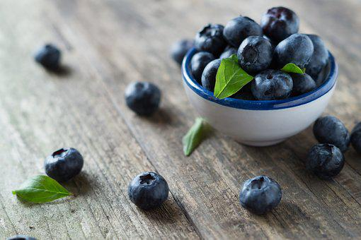 Blueberries, Health, Vitamins, Fruit