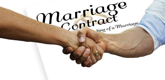 Prenup, Before, Handshake, Contract