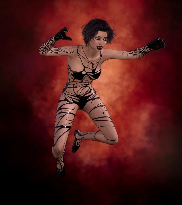 084275eacb Fantasie Gothic Frau - Kostenloses Bild auf Pixabay