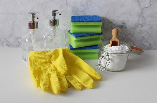 Pantry staples as alternative cleaning solutions