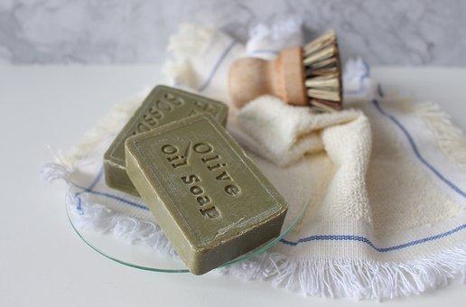 Soap, Bristle, Natural Brush, Rag