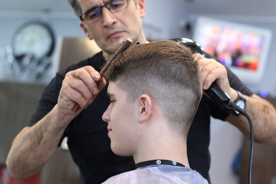 Taglio Di Capelli, Barber, Acconciatura