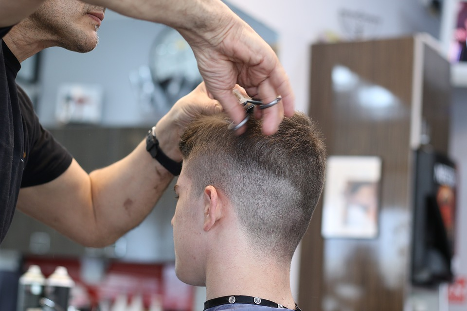 Barbershop Haarschnitt Schere Kostenloses Foto Auf Pixabay