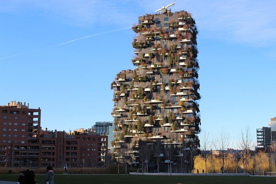 Bosco Verticale, Milano, Grattacieli, Isola