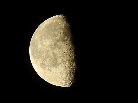 Bulan Sabit, Fase Bulan, Bulan, Malam
