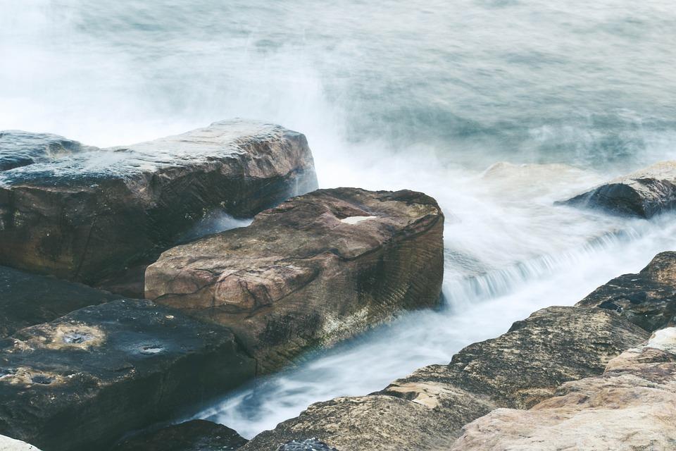 Barangaroo, Sydney, Rocks, Water, Australia, Ocean Historical sites in Sydney