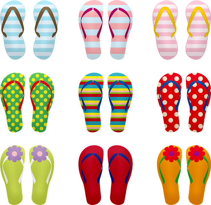 b1fbf3a19b0c Flip Flops Sandals Summer - Free image on Pixabay