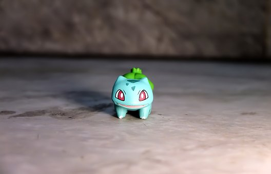 Small, Cute, Toy, Figurine, Painted