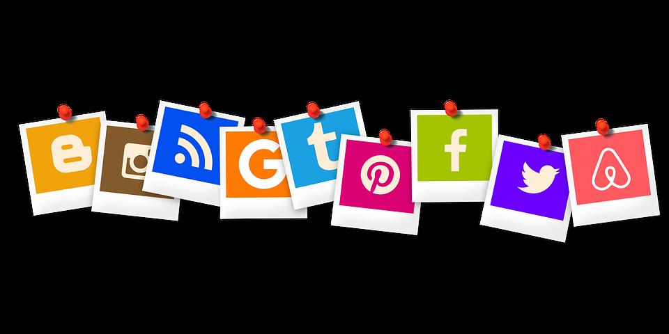 Icon, Polaroid, Blogger, Rss, App, You Tube, Pinterest