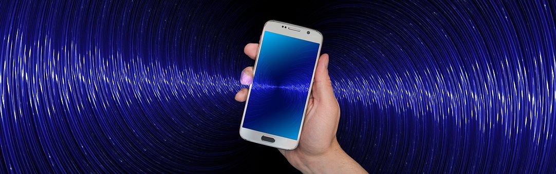Smartphone, Tangan, Tetap, Kirim