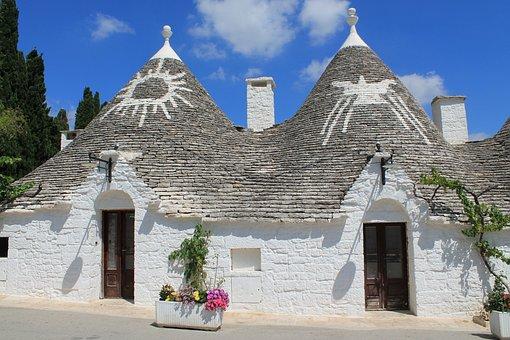 Alberobello, Puglia, Trulli, Trullo