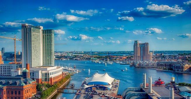 Baltimore, Harbor, Bay, Tourism