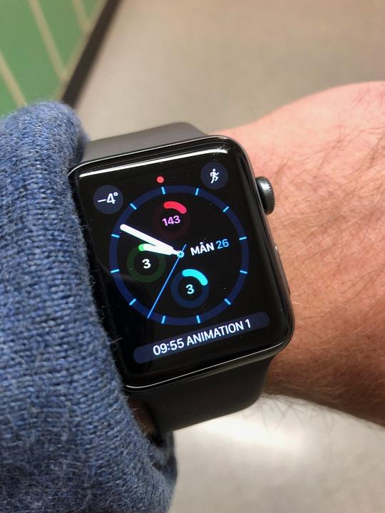 Apple Watch, 손목 시계, 시계, 애플, Gps, Smartklocka