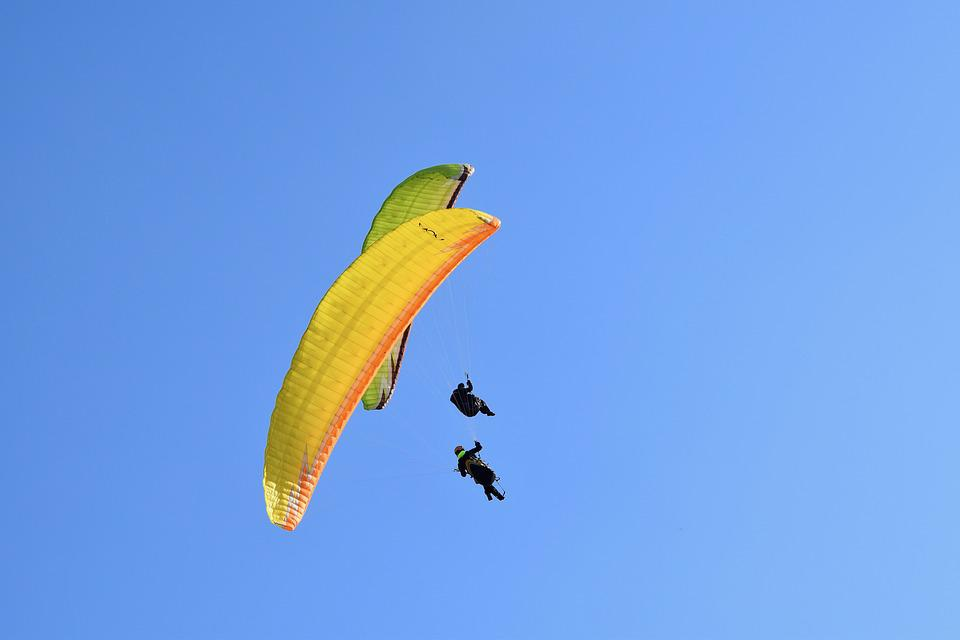 Paragliding Paraglider Fifth Wheel - Free photo on Pixabay