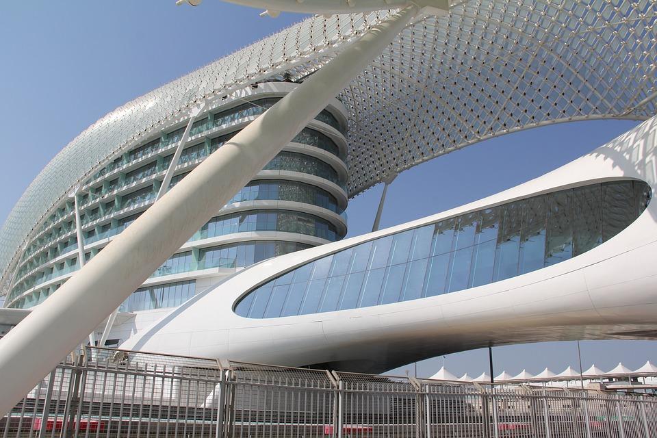 Architecture, Abu Dhabi, Travel, Orient, Tourism