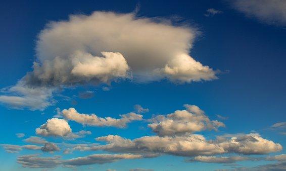 Clouds, White, Nature, Cloudscape