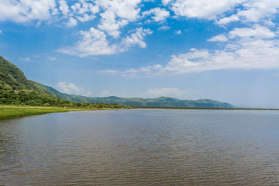 Lac, Manyara, Afrique, Sauvage, Nature, Tanzanie