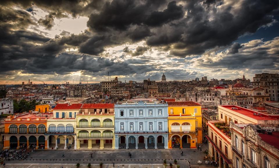 La Habana, Cuba, Ciudad, Urbana, Paisaje Urbano, Hdr