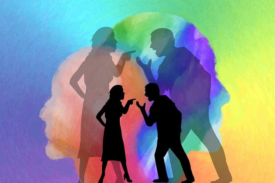 Et par som krangler og vender seg bort fra hverandre illustrerer hvor vondt og utfordrende samlivskrise er.