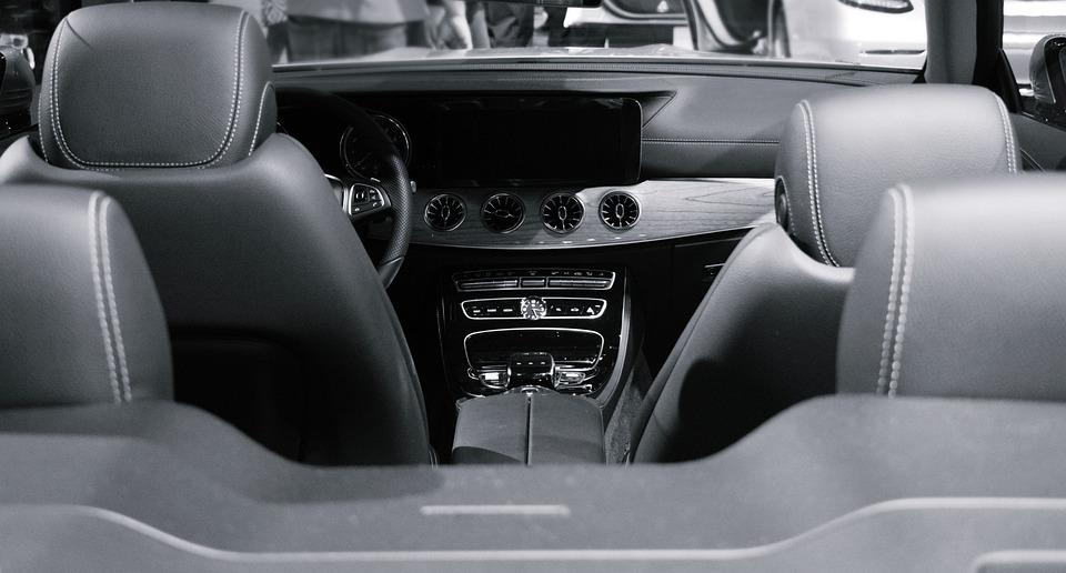 Car, Тракер, Кожа, Банки, Колело, Панел, Вътре, Дизайн