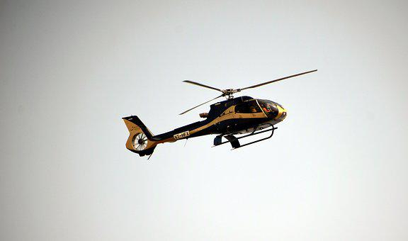Helicopter, Flying, Aviation, Sky, Pilot
