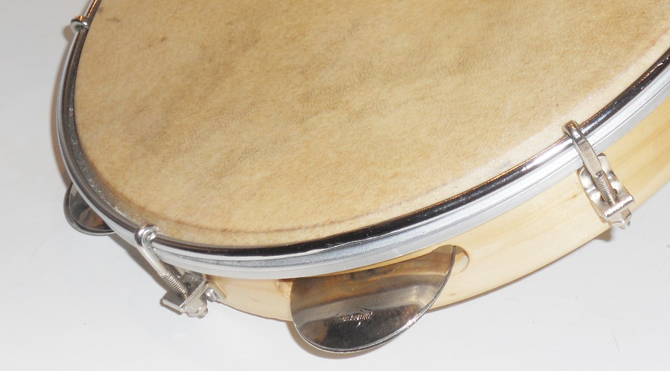 Tambourine, Samba, Mobile Screen, Computer Screen
