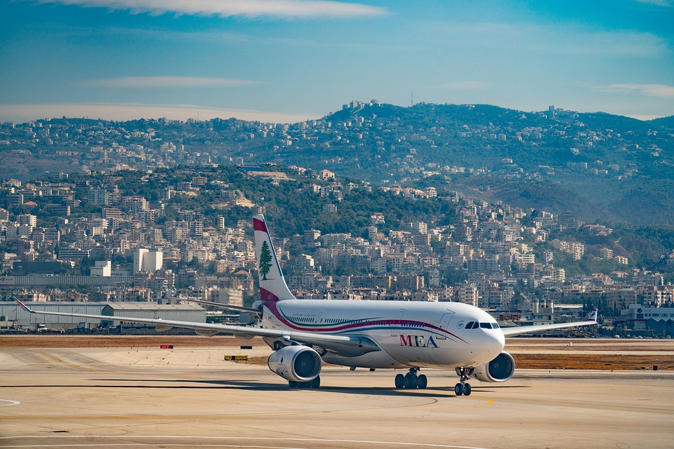 Lebanon, East Middle, Airport, Landscape, Travel