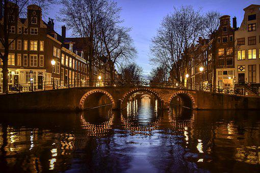 Amsterdam, Canals, Netherlands, Holland