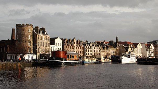 Edinburgh, Leith, Scotland, Port, Ship