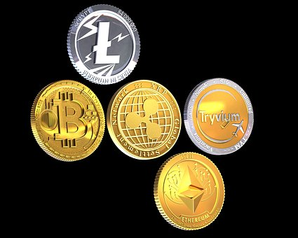 Bitcoin, Litecoin, Money, Blockchain