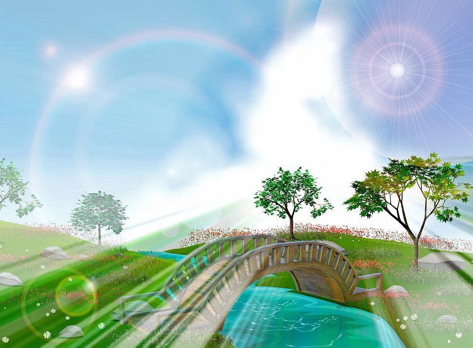 Download 470 Koleksi Background Pemandangan Jembatan Gratis