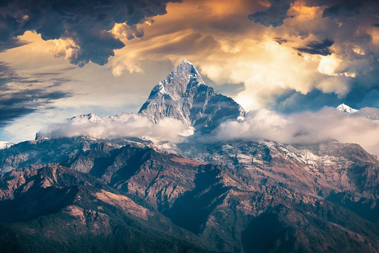 поздравления днем красивые картинки гор с облаками продаже